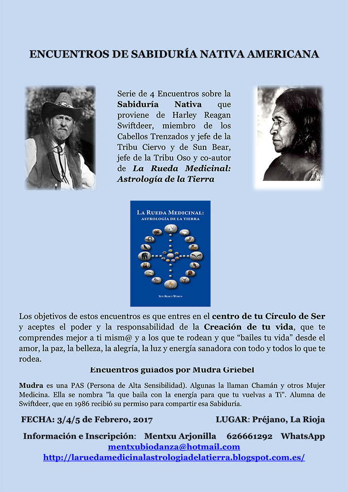 Encuentros de Sabiduría Nativa Americana, Préjano, La Rioja