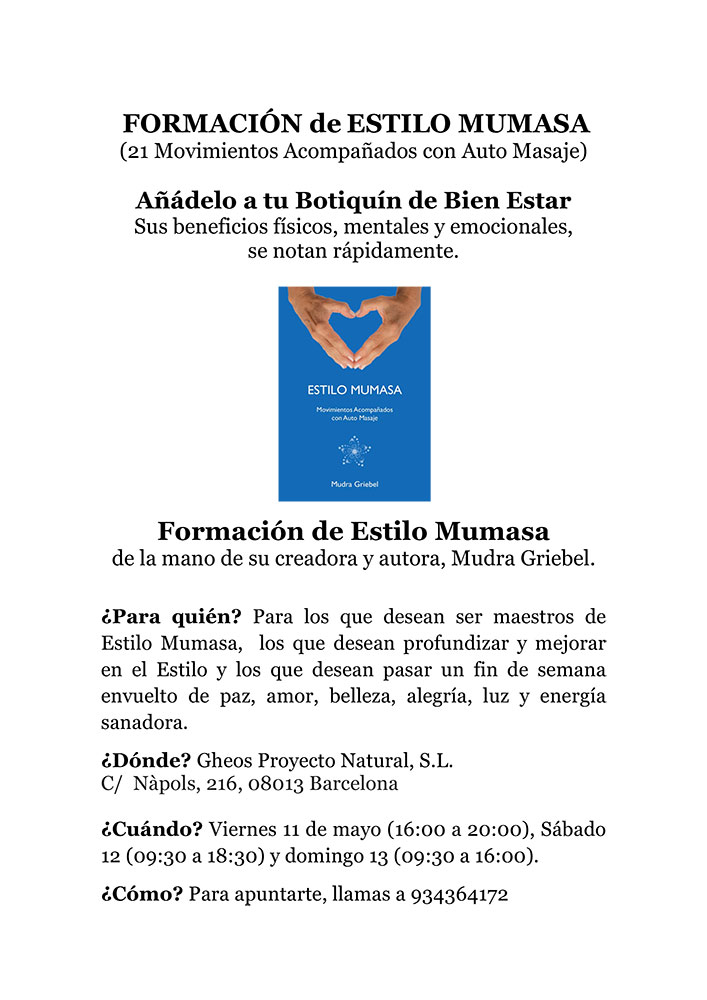 Formación Estilo Mumasa, Barcelona