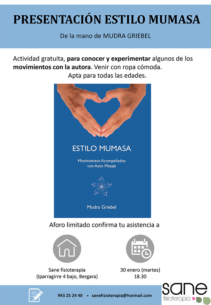 Presentación Estilo Mumasa, Bergara